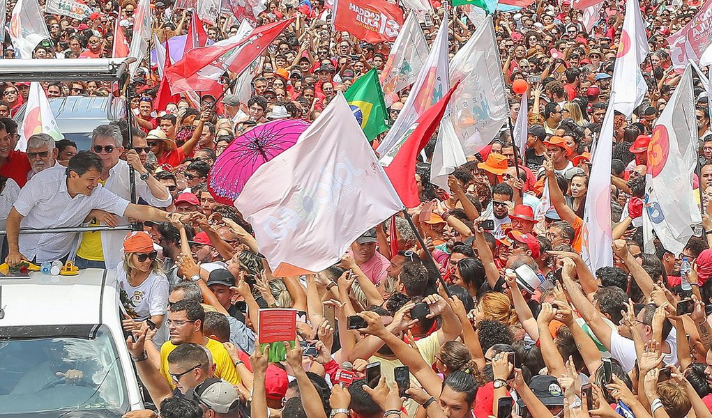 A vitória do Haddad e da democracia no horizonte