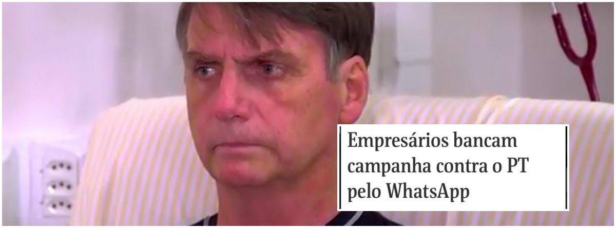Bolsonaro ataca liberdade de expressão e processa donos da Folha