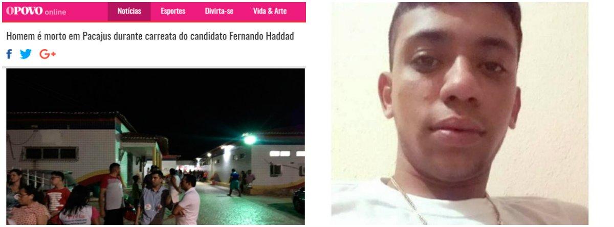 CUT repudia violência promovido por bolsonaristas e exige solução de assassinato no Ceará
