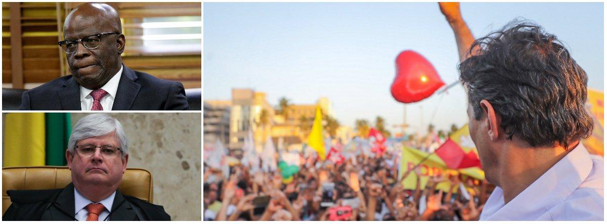 Apoio do Judiciário a Haddad mostra que o PT é necessário à  democracia