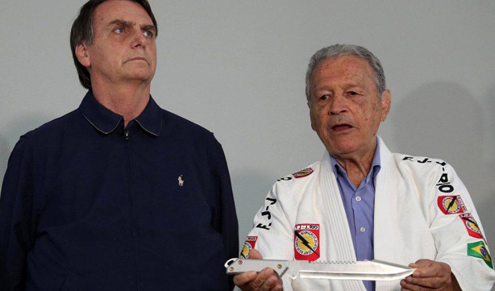 Preso pela ditadura, Robson Gracie apoia Bolsonaro e causa racha na família