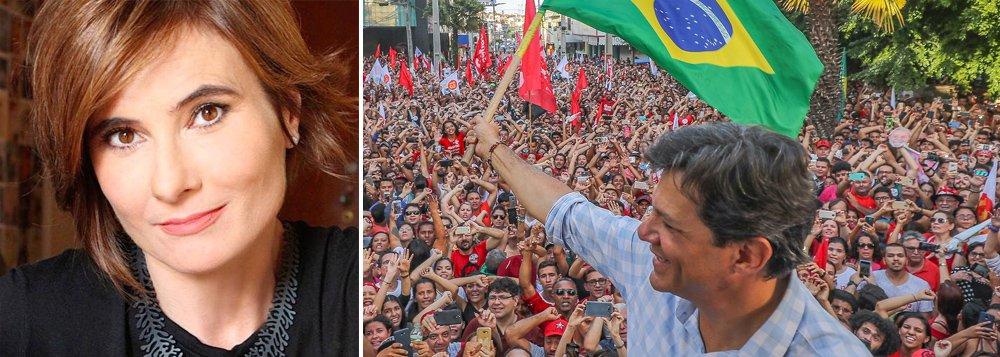 Eliane Brum vota em Haddad contra a opressão