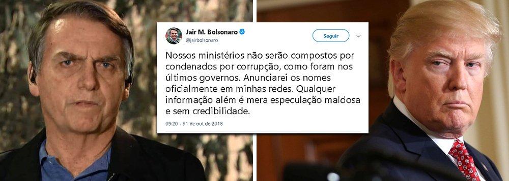 Como Trump, Bolsonaro começa governo pelas redes sociais