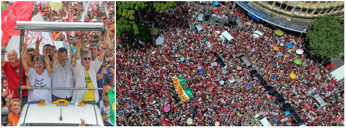 """Haddad: Bolsonaro estimula pessoas violentas a """"saírem do armário"""""""