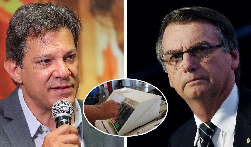 Dá pra 'comparar' Bolsonaro com Haddad?