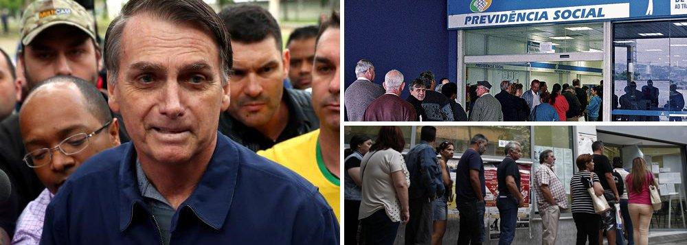 Proposta de Bolsonaro ameaça aposentadoria de 51 mi de trabalhadores