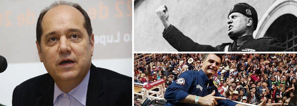 Eugênio Bucci: Mussolini era mais educado que Bolsonaro