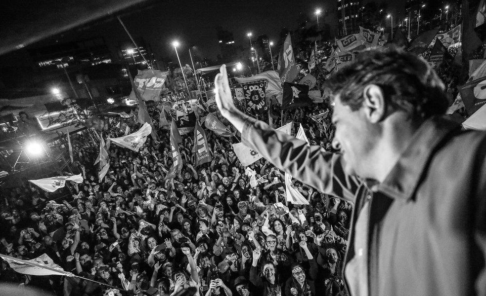 Haddad a Bolsonaro: 'você vai tomar uma surra do povo brasileiro'