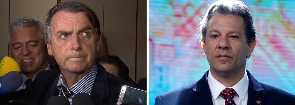 Com fuga de Bolsonaro, Haddad vai ao TSE para ser entrevistado na Globo