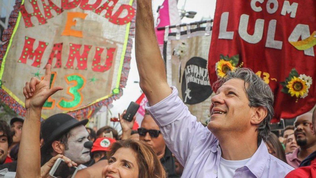São Paulo é o 'ponto de virada' da eleição; Haddad vai pra cima