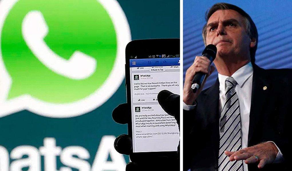 Família Bolsonaro contratou agência para criar grupos no Whatsapp, diz revista