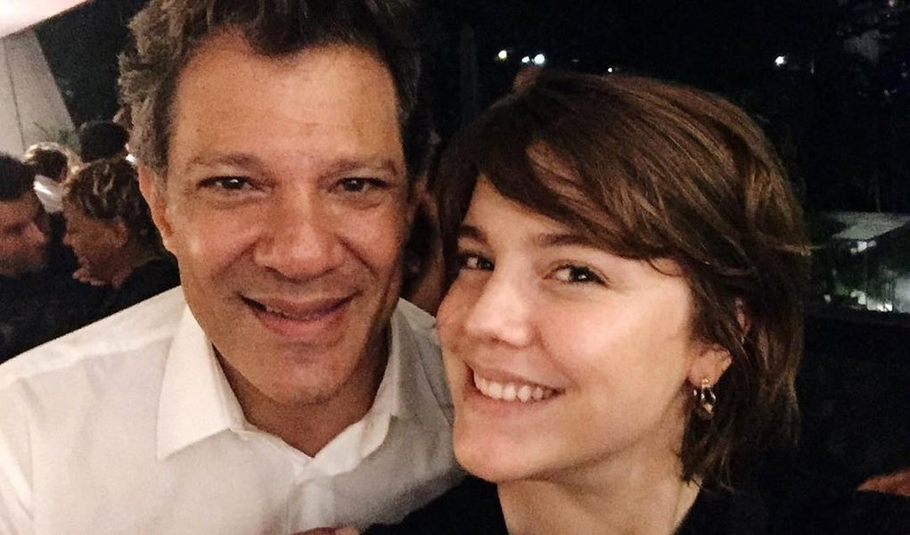 "Alice Weg: ""Haddad é o cara que não vai enfraquecer a democracia"""