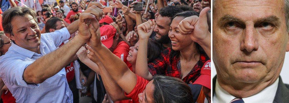 Tijolaço: Haddad está a 'um Ciro' de Bolsonaro