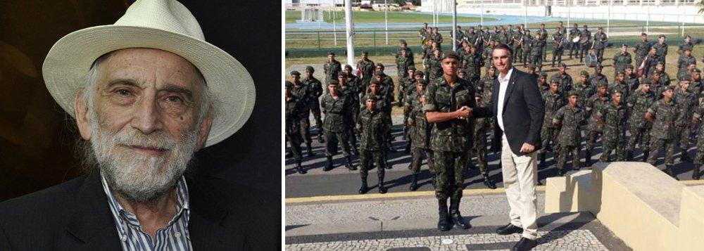 Solnik: Bolsonaro já transforma o Brasil num quartel