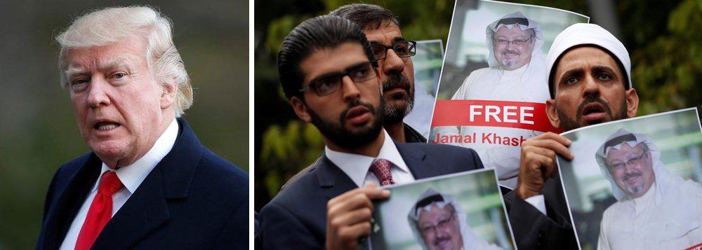 """Trump diz que sauditas fizeram """"pior acobertamento da história"""" no caso Khashoggi"""