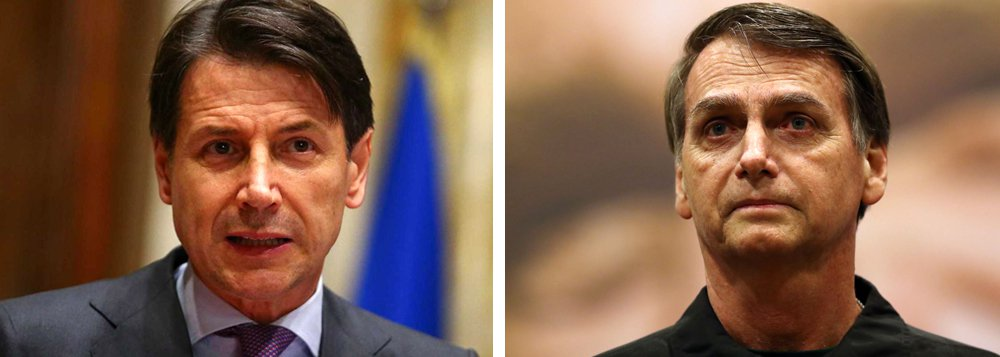 Primeiro-ministro italiano nega apoio oficial a Bolsonaro