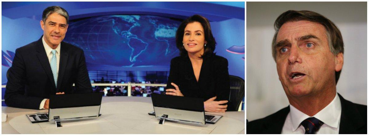 Tijolaço: Bolsonaro é um covarde e a Globo é sua cúmplice