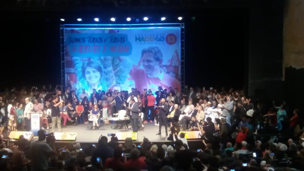 Fernando Haddad recebe o apoio de 69 torcidas organizadas