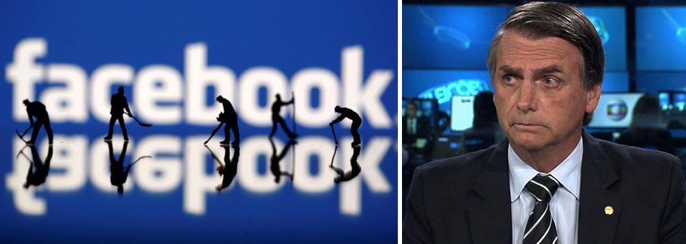 Facebook derruba 68 páginas e 43 contas de bolsonaristas
