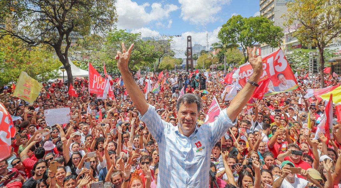 Haddad chega forte e deverá ser eleito presidente