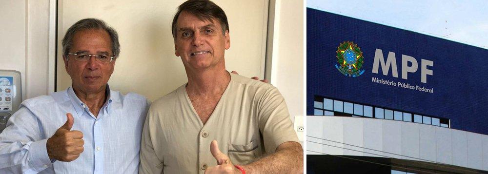Paulo Guedes, guru de Bolsonaro, é alvo de nova investigação do MPF