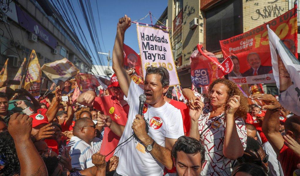 Operadores do Direito em MG lançam manifesto em apoio a Haddad
