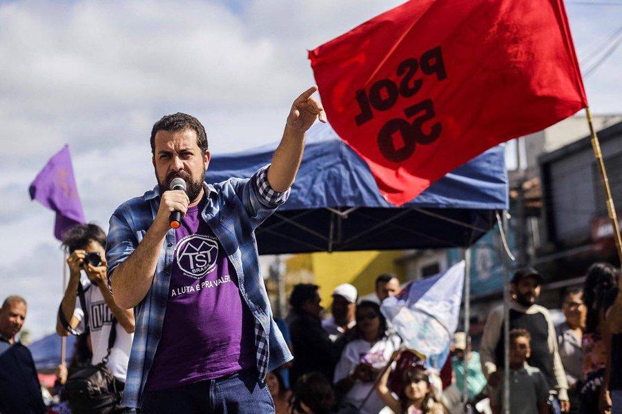 Boulos ironiza: o Partido da Justiça entrou na coligação do PSL