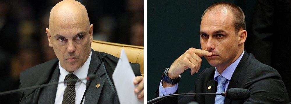 Moraes pede investigação da PGR contra ameaça de Bolsonaro ao STF