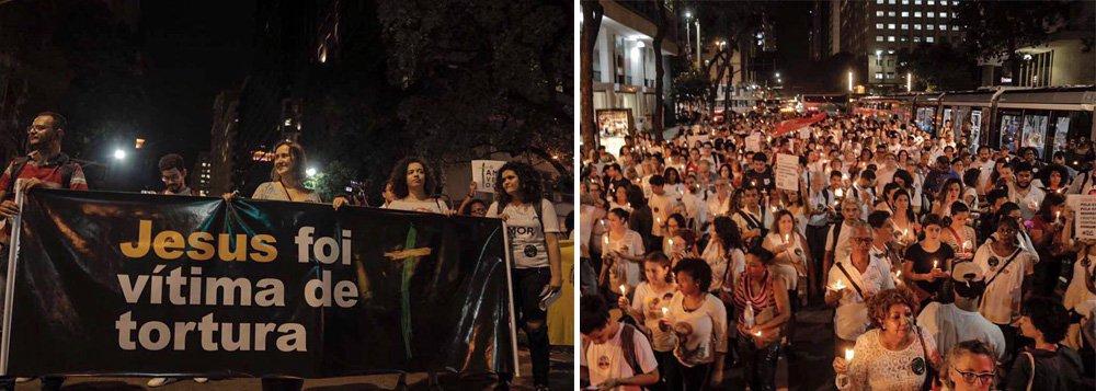 Evangélicos de todo o país se mobilizam contra Bolsonaro