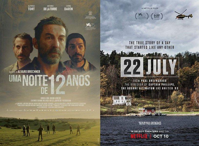 Cinema e Sofá 247 debate Uma Noite de 12 Anos e 22 de Julho