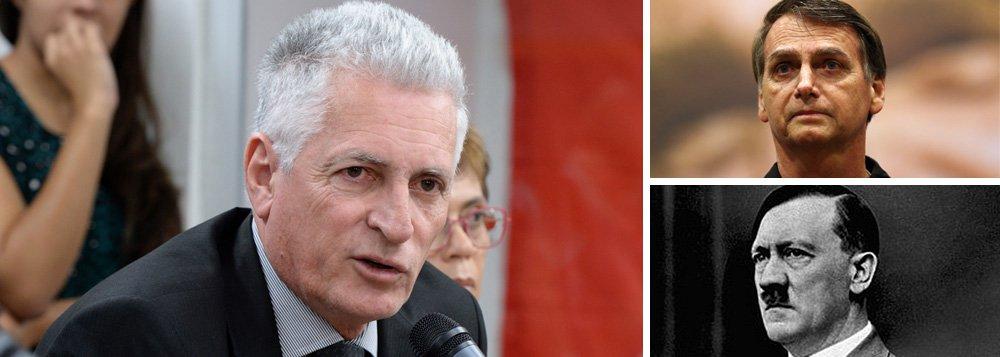 Rogério Correia dispara: Bolsonaro age como Hitler