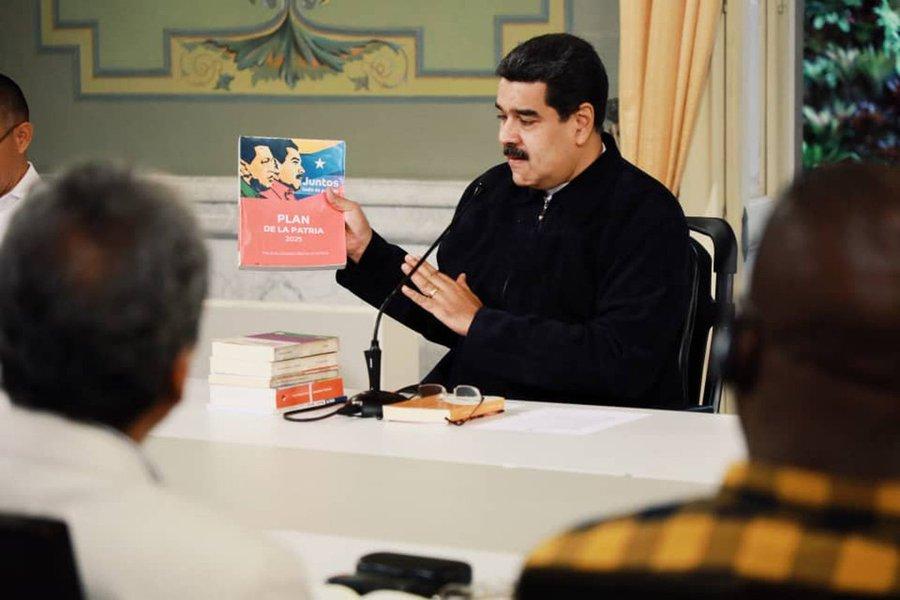 Maduro diz que declarações de vice-presidente dos EUA são paranoicas