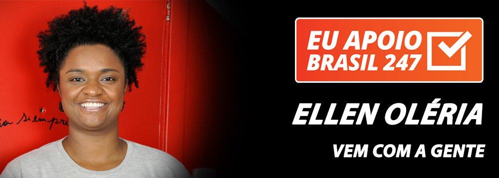 Ellen Oléria apoia o 247: vem com a gente