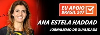 Ana Estella Haddad apoia o 247: jornalismo de qualidade