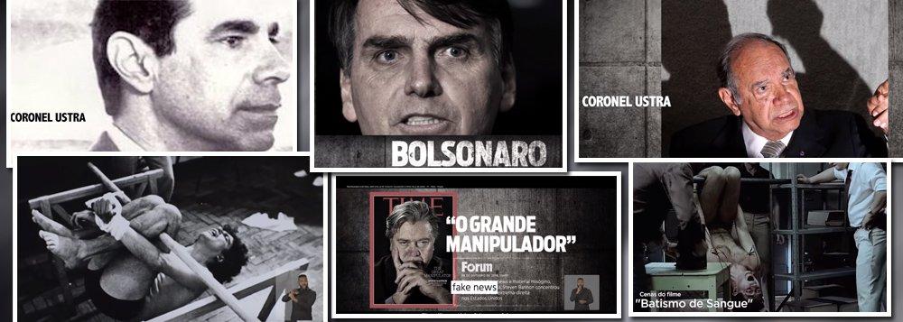 Haddad apresenta o torturador herói de Bolsonaro ao país