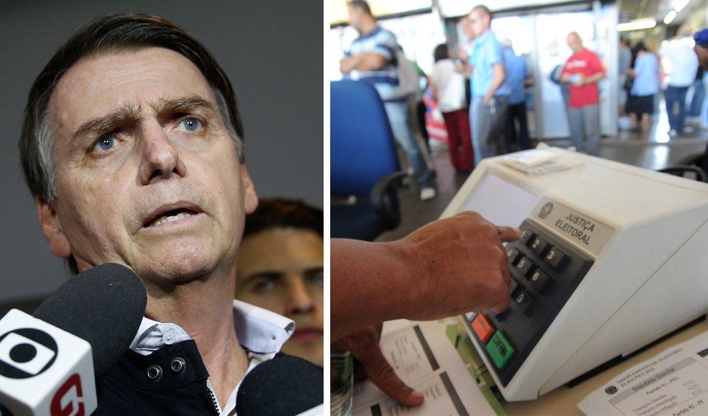 Bolsonaro, que pede volta de voto impresso, já defendeu uso da urna eletrônica