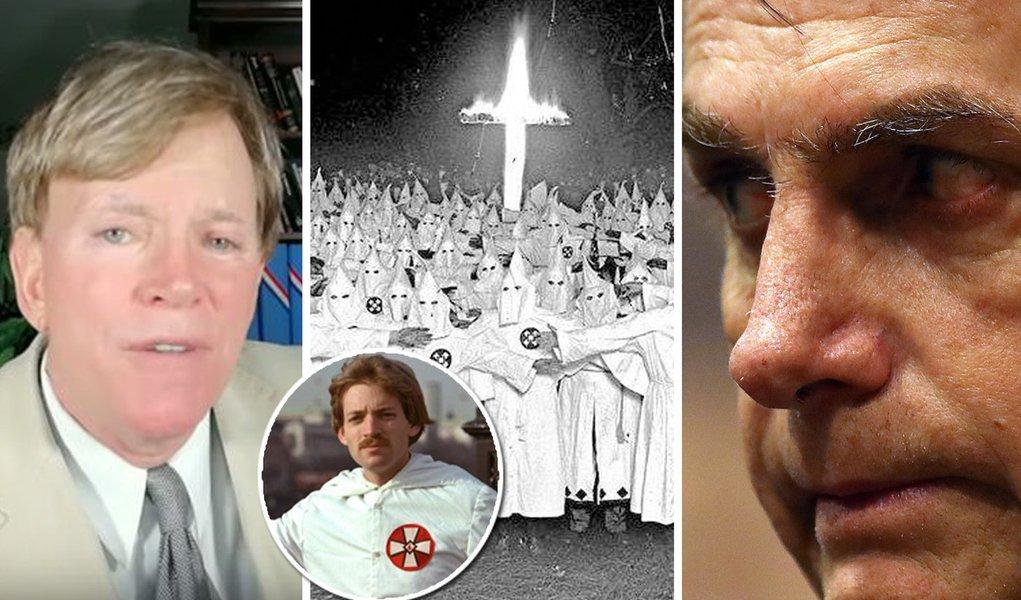 Liderança da Ku Klux Klan declara apoio a Bolsonaro: 'ele soa como nós'