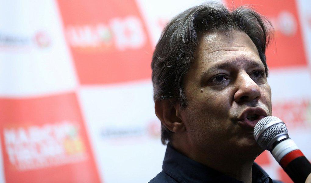 'O plano econômico do PT é meu e de Lula', diz Haddad