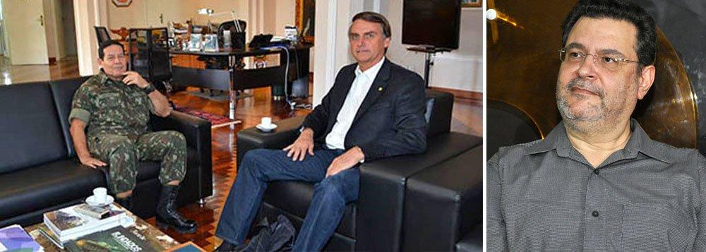 Rui Costa Pimenta: sofremos risco concreto de um novo golpe militar
