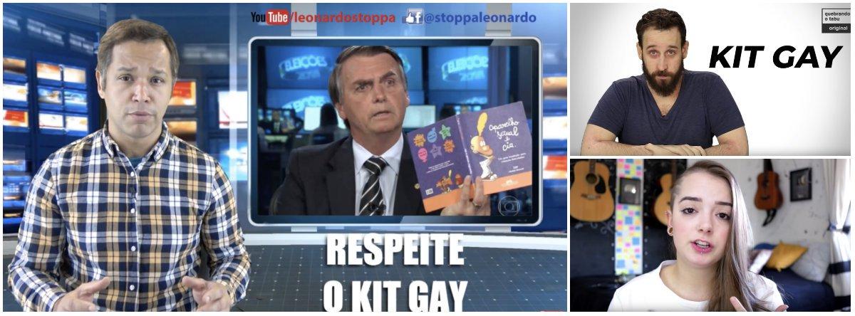 Vídeos desmascaram kit gay, maior fake news de Bolsonaro