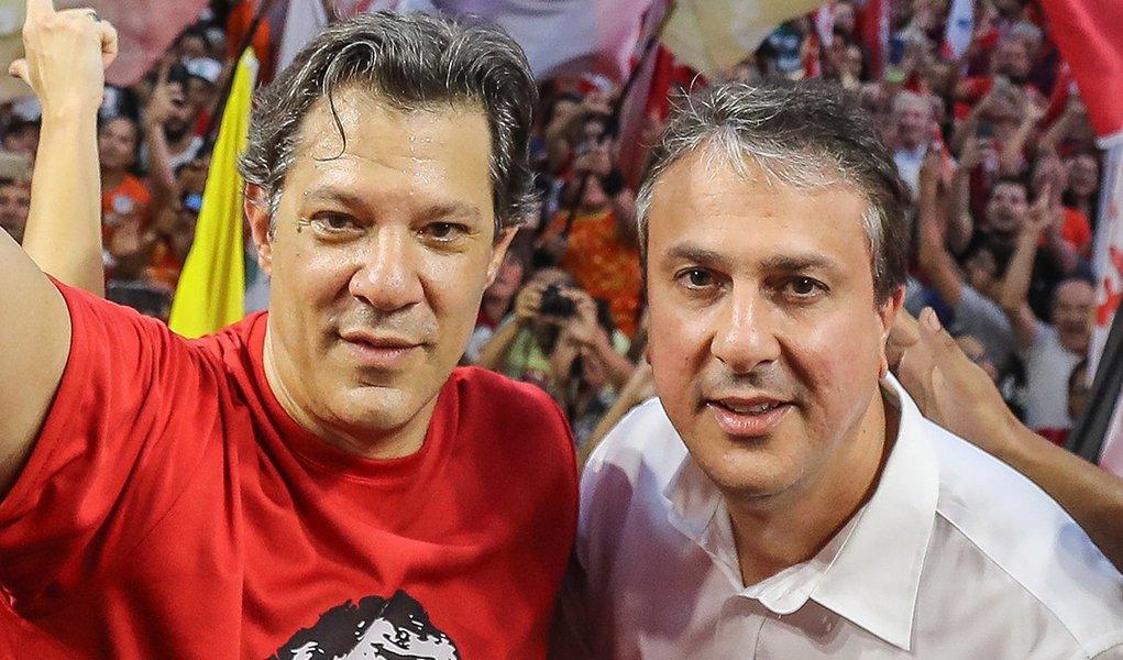 Camilo Santana: Haddad deve ser expressão de frente democrática