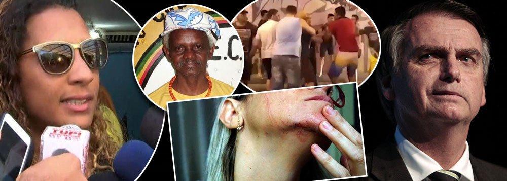 Bolsonaro lava as mãos em relação a assassinato e agressões