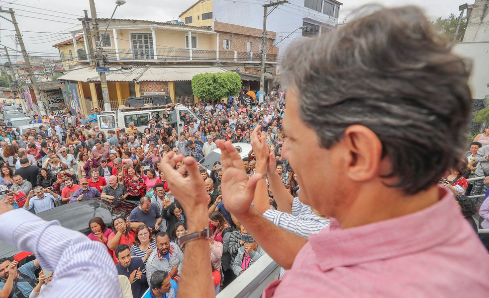 Haddad chegou a 70% dos votos nas cidades pequenas do Nordeste