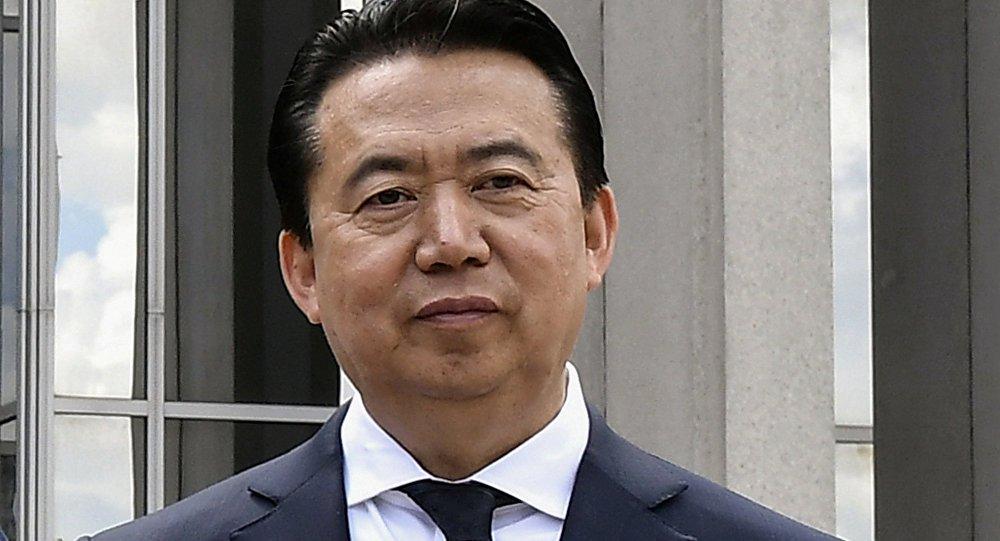 Chefe da Interpol está sob investigação, diz China