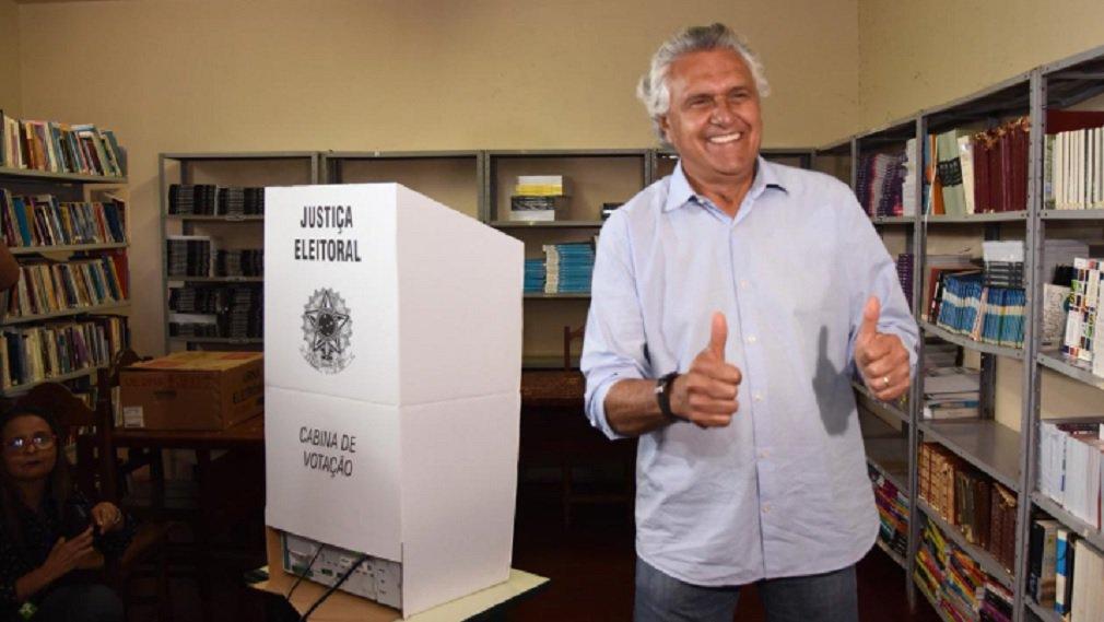 """Caiado: """"Sempre aguardo o resultado das urnas"""""""