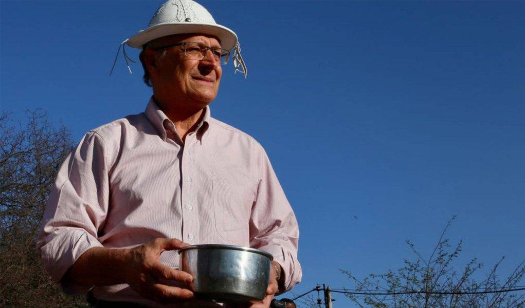 Em mais uma tentativa de 'decolar', Alckmin adota discurso do empoderamento feminino