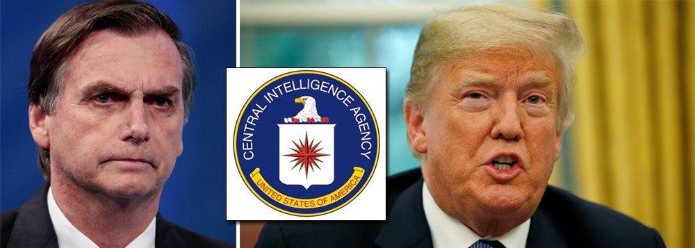 Tem dedo da CIA nas eleições do Brasil