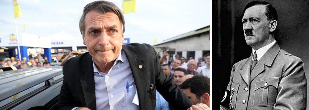 Campanha do PT associa Bolsonaro a Adolf Hiltler