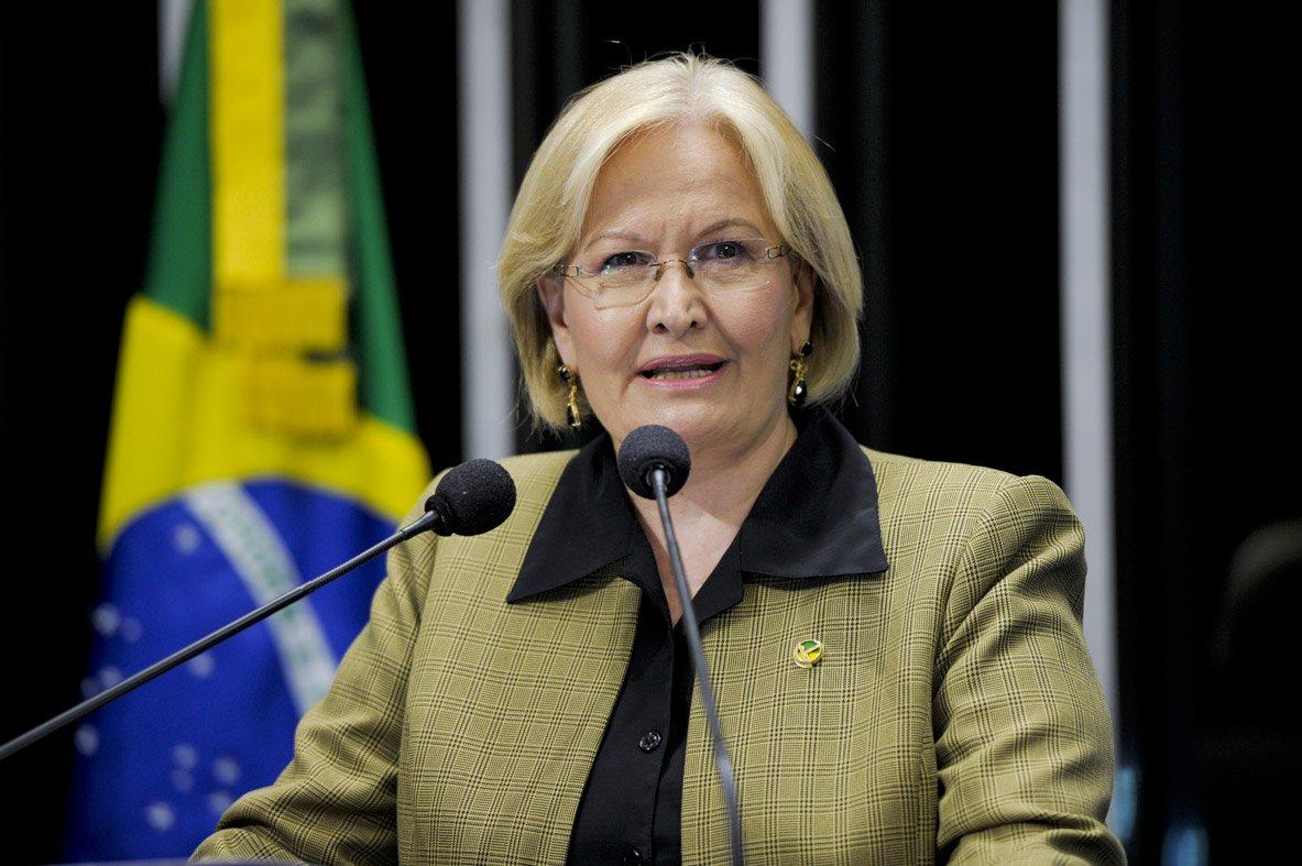 Ana Amélia declara apoio a Bolsonaro e diz que PT no poder é ameaça à democracia