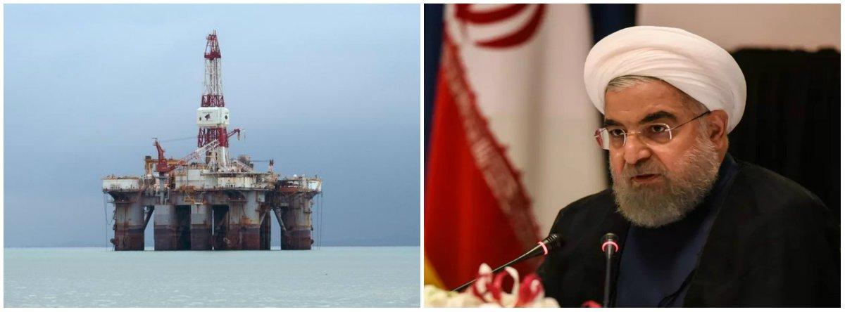 Mercado aposta em petróleo a US$100/barril com sanções ao Irã